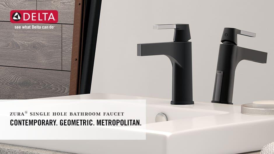 Zura Single-Handle Bathroom Faucet with DIAMOND Seal Technology