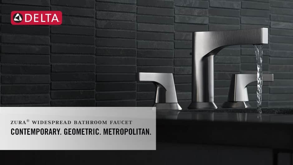 Zura 2-Handle Widespread Bathroom Faucet with DIAMOND Seal Technology