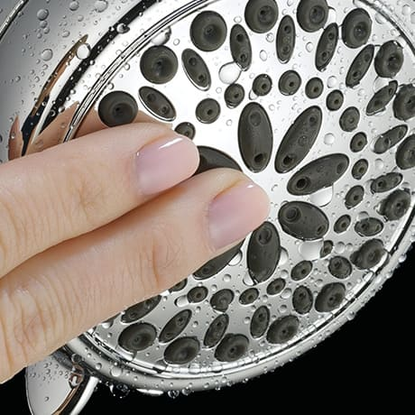 Touch-Clean Spray Holes
