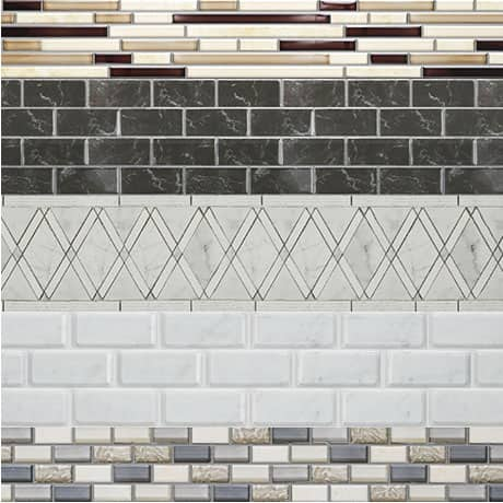 Choose any tile for a custom look