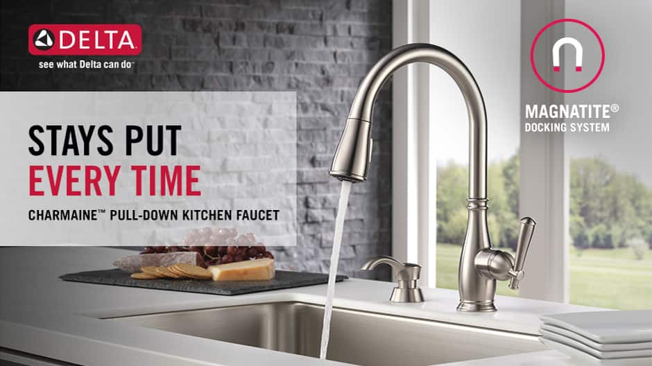 Charmaine Single-Handle Pull-Down Kitchen Faucet