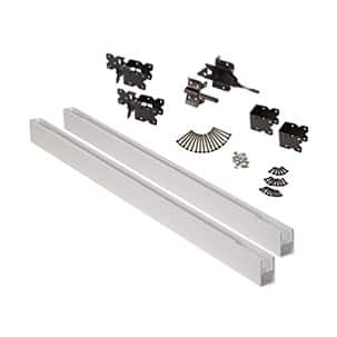 A product image of the matching fence gate kit