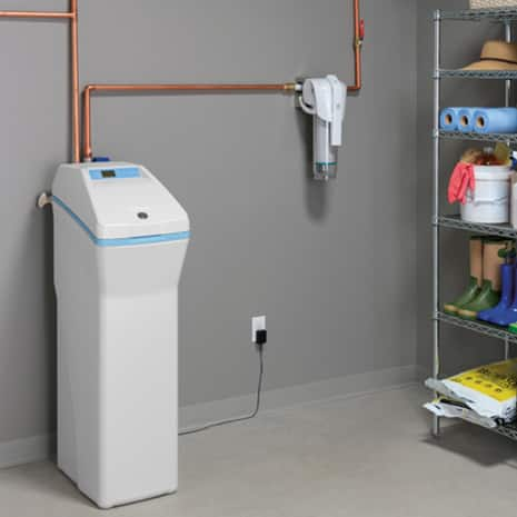 Whole Home System installed in basement