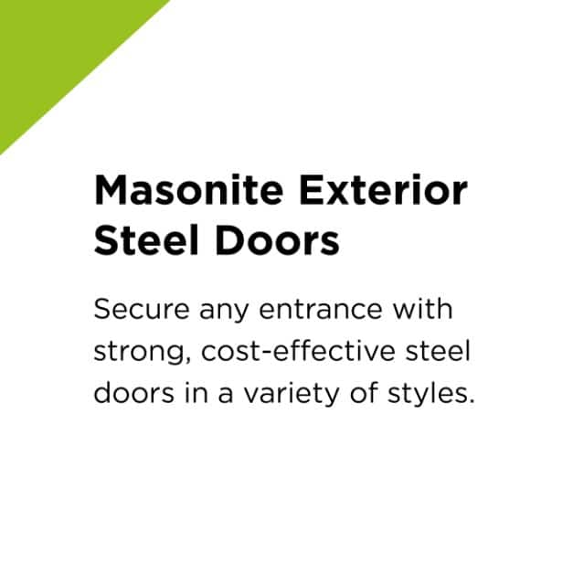 Masonite Exterior Steel Doors