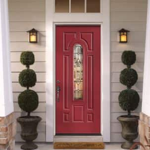 Masonite 3/4 Oval Cianna Exterior Steel Door