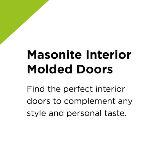 Masonite Interior Molded Doors