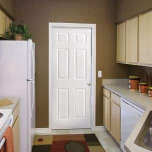 Masonite 6 Panel Interior Molded Door