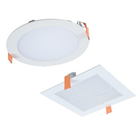 """HLB Series is available in round/square models, and 3"""", 4"""" or 6"""" sizes."""
