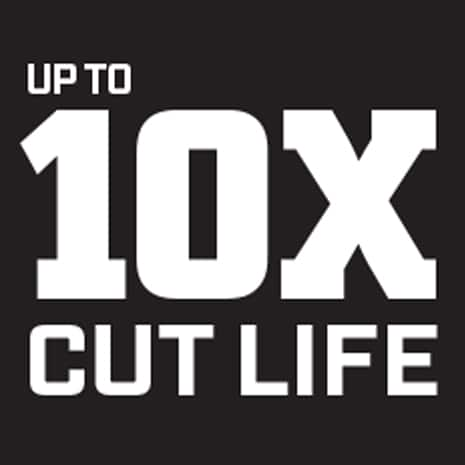 Longer cut life than our previous snips