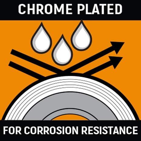 Chrome finish Icon
