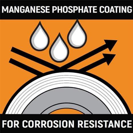Manganese Phosphate Coating Icon