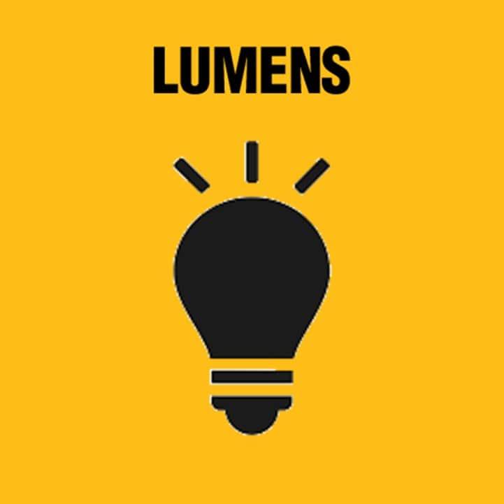 Variable brightness settings up to 3000 Lumen.