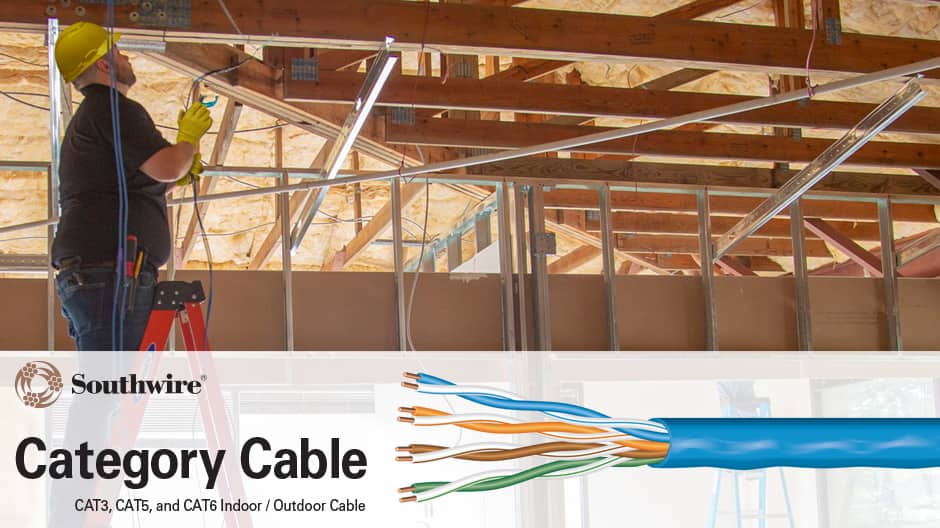 24/4 Category 5e (CMR) Riser Data and Voice Cable Installation Information