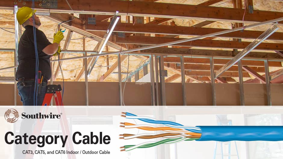 23/4 Category 6 (CMR) Riser Data and Voice Cable Installation Information
