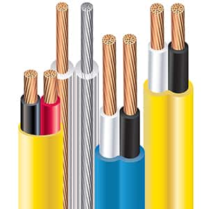 Southwire Stranded Copper Speaker Wire and Cable Assortment (In-Wall, Zip)
