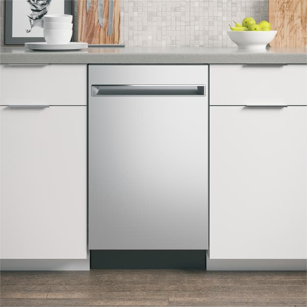 Set shot of dishwasher installed