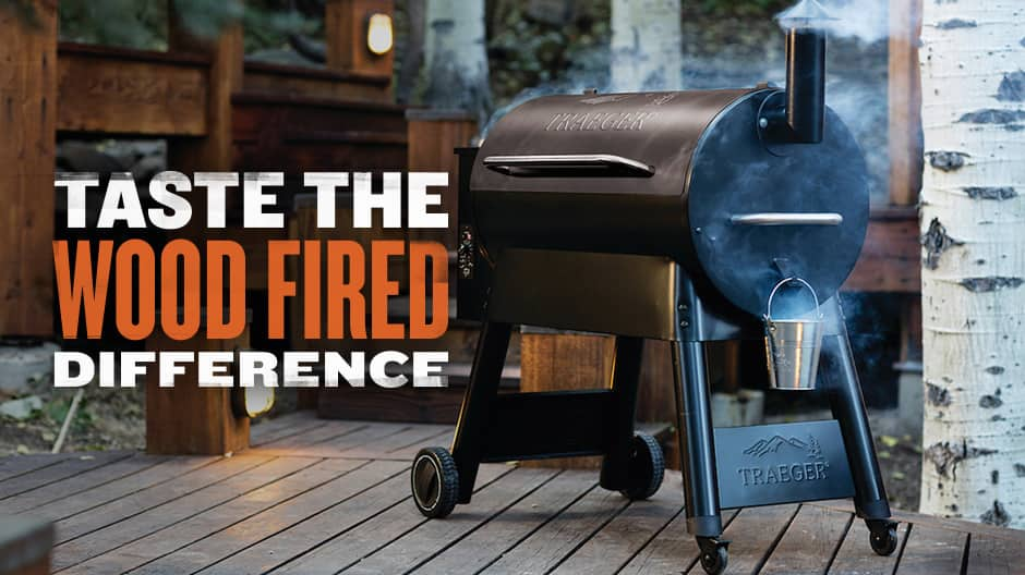 Traeger Grills - Taste The Wood Fired Difference - Eastwood 34