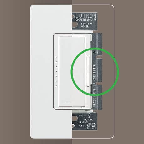 Dimmer with highlighted features