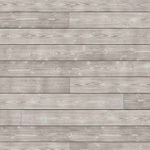 Swatch image of a grey charred wood shiplap board