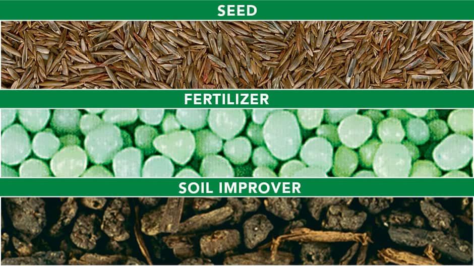 Seed, Fertilizer, Soil Improver