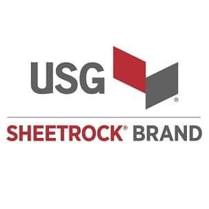 USG Sheetrock Brand logo