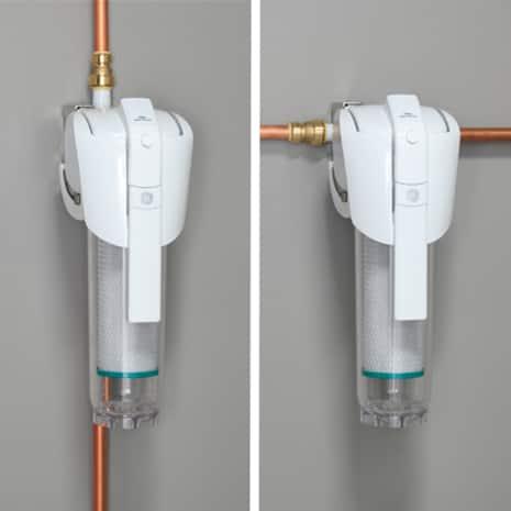 vertical installation and horizontal installation