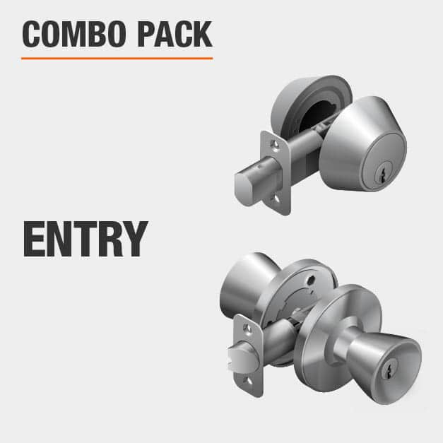 This is a combo pack and the lock function is Entry