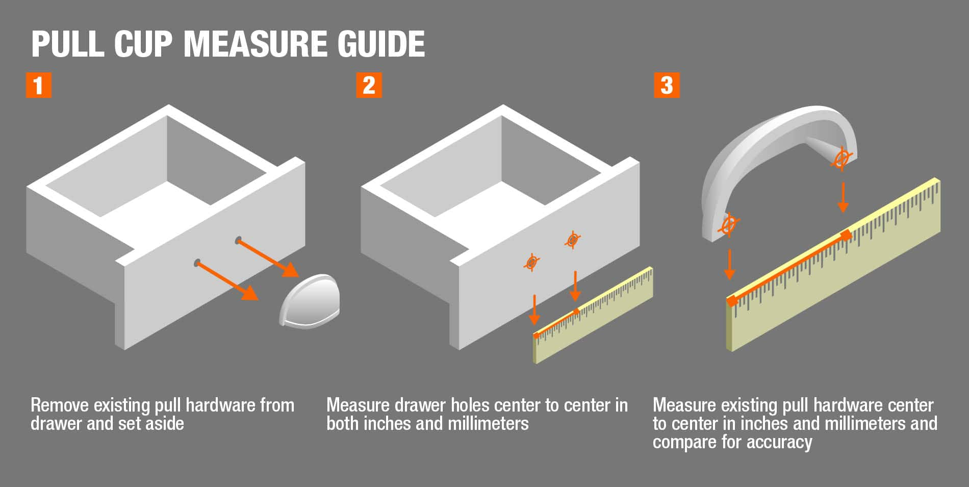 Pull Cup Measure Guide