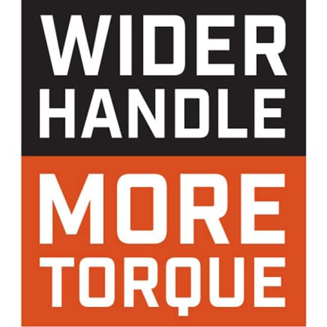 Wider Handle More Torque