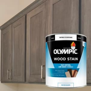 Water Based Wood Stain Quart Can