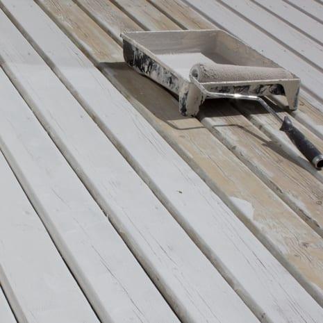 Exterior Paint On Wood Deck