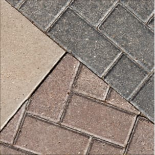 Concrete, Brick and Wood Surfaces
