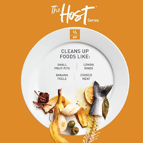 Designed for those who frequently cook for guests and need advanced cleanup power