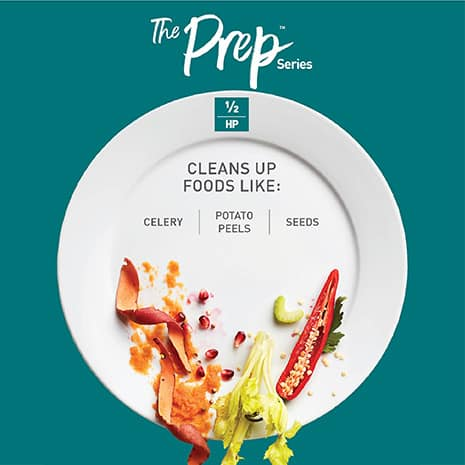 Designed for those who slice, dice and peel as part of their basic meal prep and need a little more help with cleanup