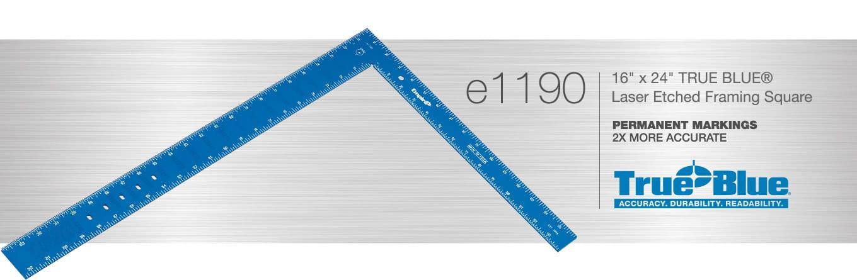 Laser Etched Framing Square