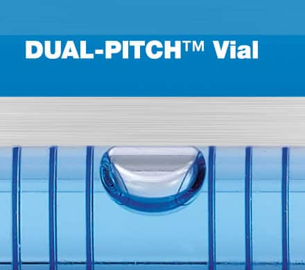 Dual Pitch Vial