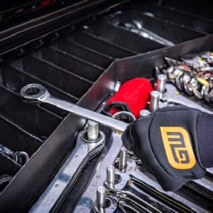 The original ratcheting wrench enables access where a ratchet won't fit