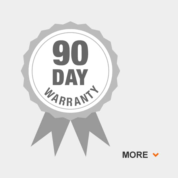 90-day overall grill warranty