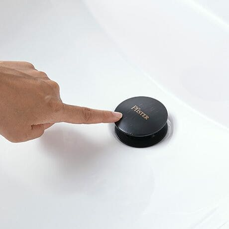 Easy install pop up drain