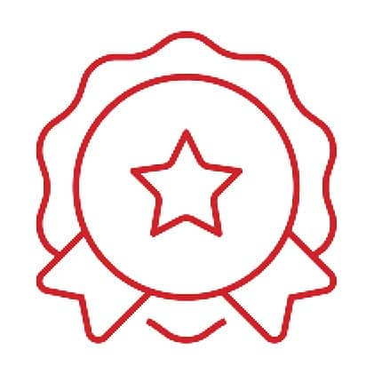 Lifetime Residential Limited Warranty Icon