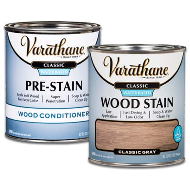 Apply Water-Based Wood Conditioner