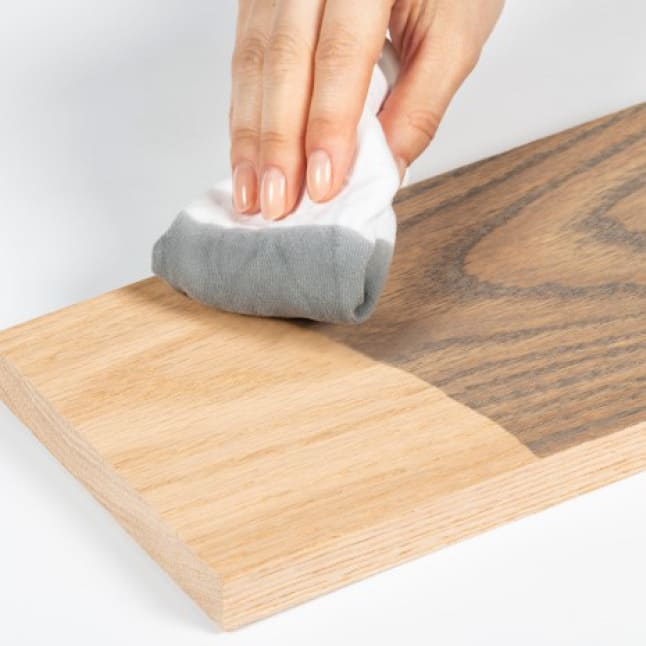Shake Stain Can Before Opening
