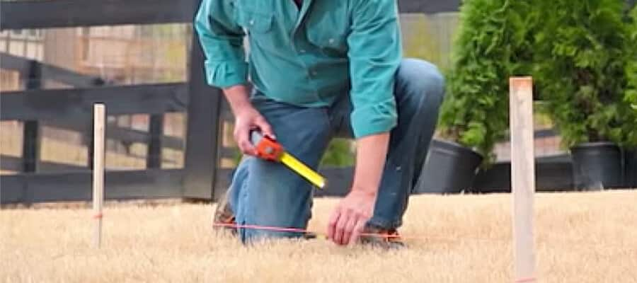 how to prep your yard for a playset