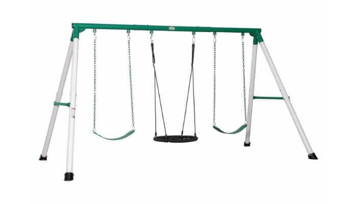 metal swing sets