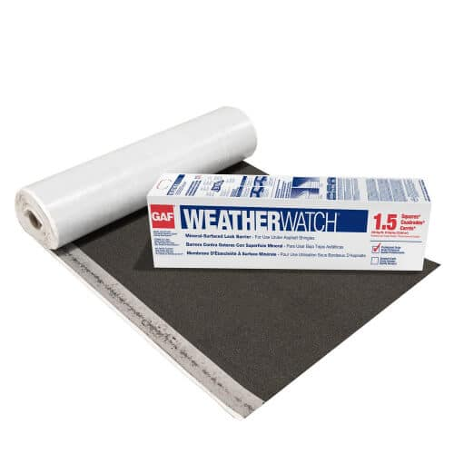 roof underlayments/leak barriers