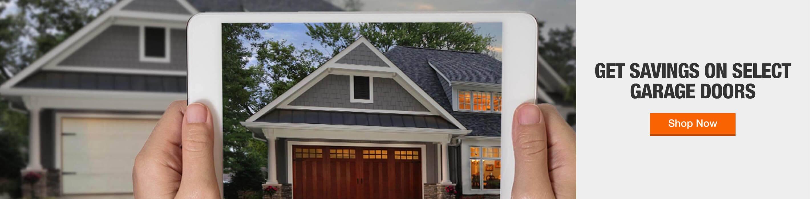 Up to 15% off select special order garage door openers