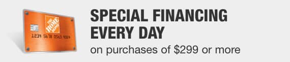 Special Financing Everyday