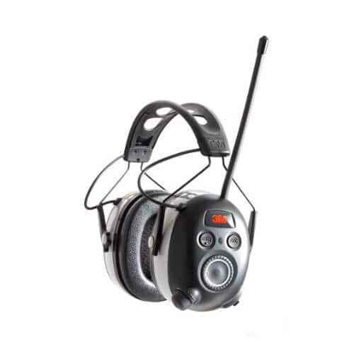 hearing protection headphones with antenna