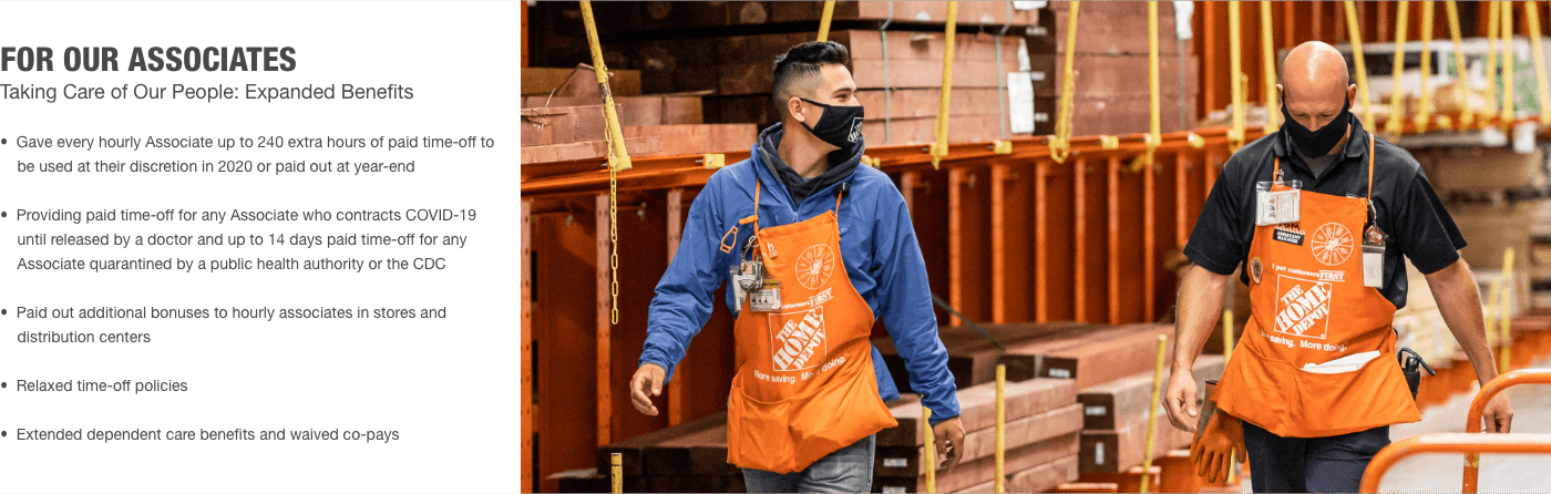 For Our Associates Taking Care of Our People: Expanded Benefits