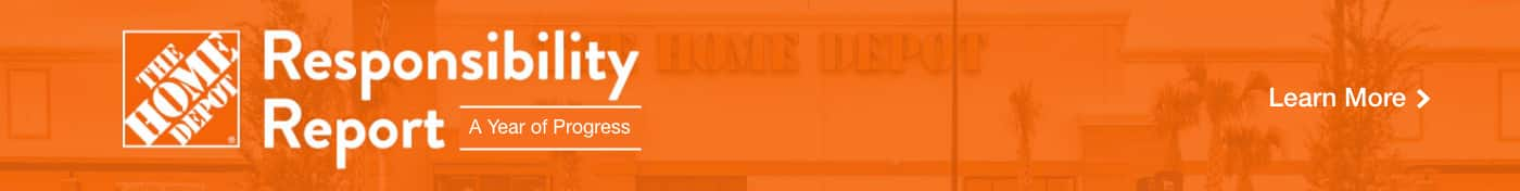 The Home Depot:  Responsibility Report